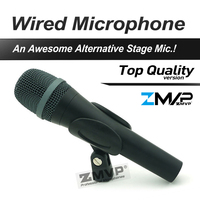 Free Shipping Top Quality 945 Professional Karaoke Dynamic Super Cardioid Vocal Wired Microphone Microfone Microfono Mike