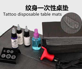 """125pcs 13\""""X18\"""" Black Tattoo Cleaning Wipes Disposable Dental Piercing Bibs Waterproof Sheets Paper Tattoo Tattoo Accessories"""