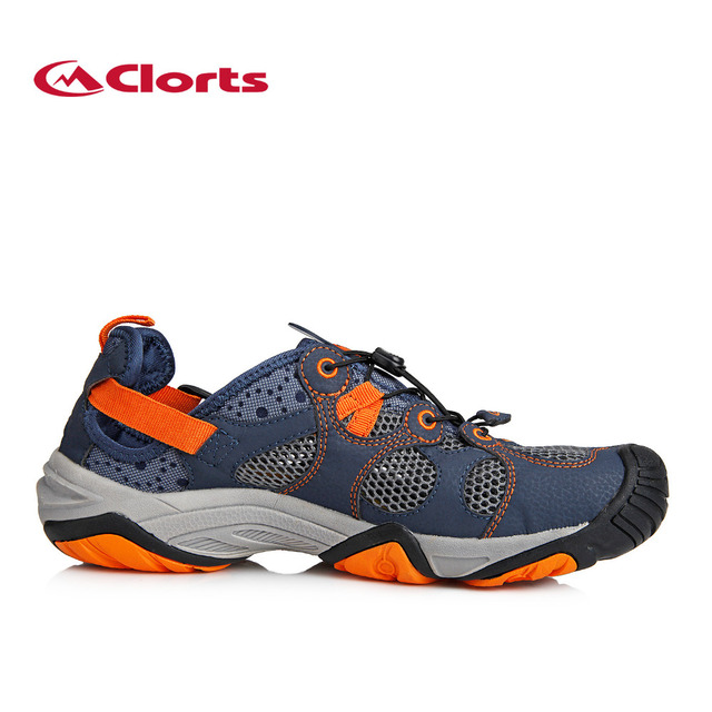 Clorts 2017 Men Water Shoes Quick-drying Wading Shoes Men Aqua Shoes for Outdoor Upstream Shoes 3H021
