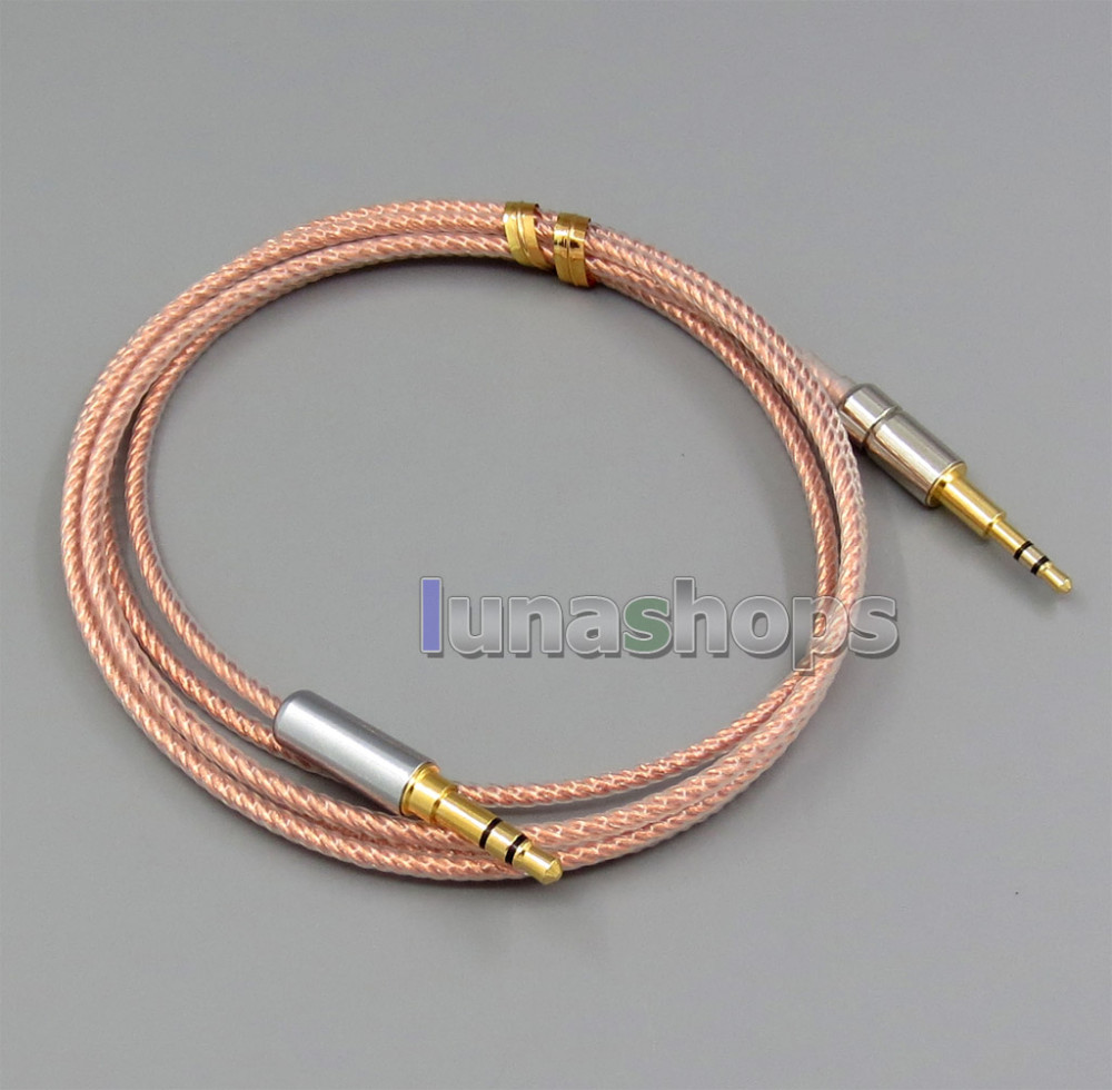 Silver Plated Audio Cable For Sennheiser mm400 mm450 HD500 HD570 headphones