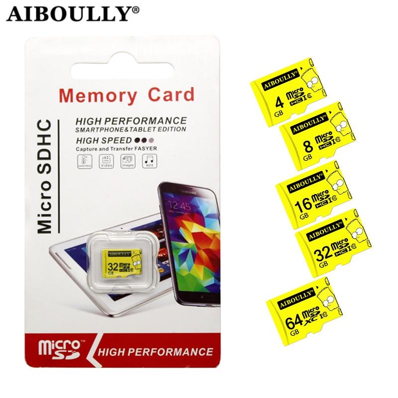 Memory card  4GB 8GB 16GB 32GB 64GB class 10 micro sd card SDHC/SDXC cartao de memoria For smartphone Tablet PC