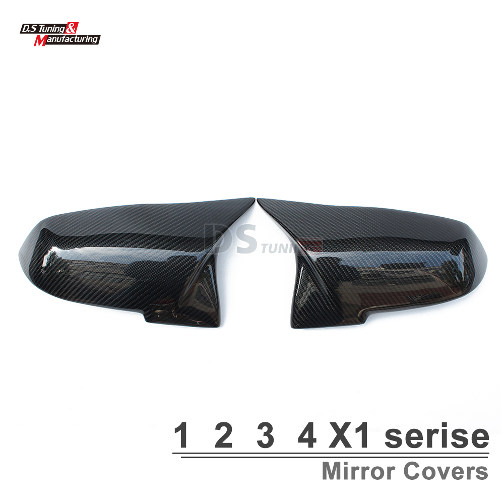 M3 style f30 mirror cover for BMW 1 2 3 4 X1 f20 f21 f22 f23 f30 f31 f32 f33 E84 side door mirror covers nitro triple chrome plated abs mirror 4 door handle cover combo