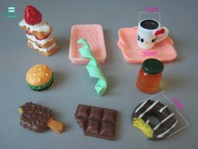 Doll house accessories tableware food cake milk For BJD SD dolls Monster Hight