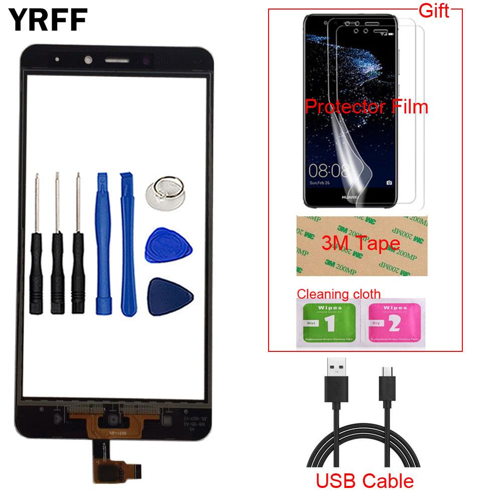 Mobile Touch Screen Front Glass Digitizer Panel Touchscreen For Xiaomi Redmi Note 4 Touch Screen Tools Gift