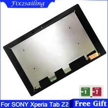 AAA + wyświetlacz LCD do tabletu Sony Xperia Z2 SGP511 SGP512 SGP521 SGP541 SGP551 SGP561 Panel LCD + ekran dotykowy Digitizer montaż