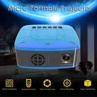 U20 LCD Full HD 1080P Mini Projektor 500LMs Heimkino Kino Film LED Proyector AV/TF/USB /HDMI/IR/Eingänge Tragbare Beamer NEUE