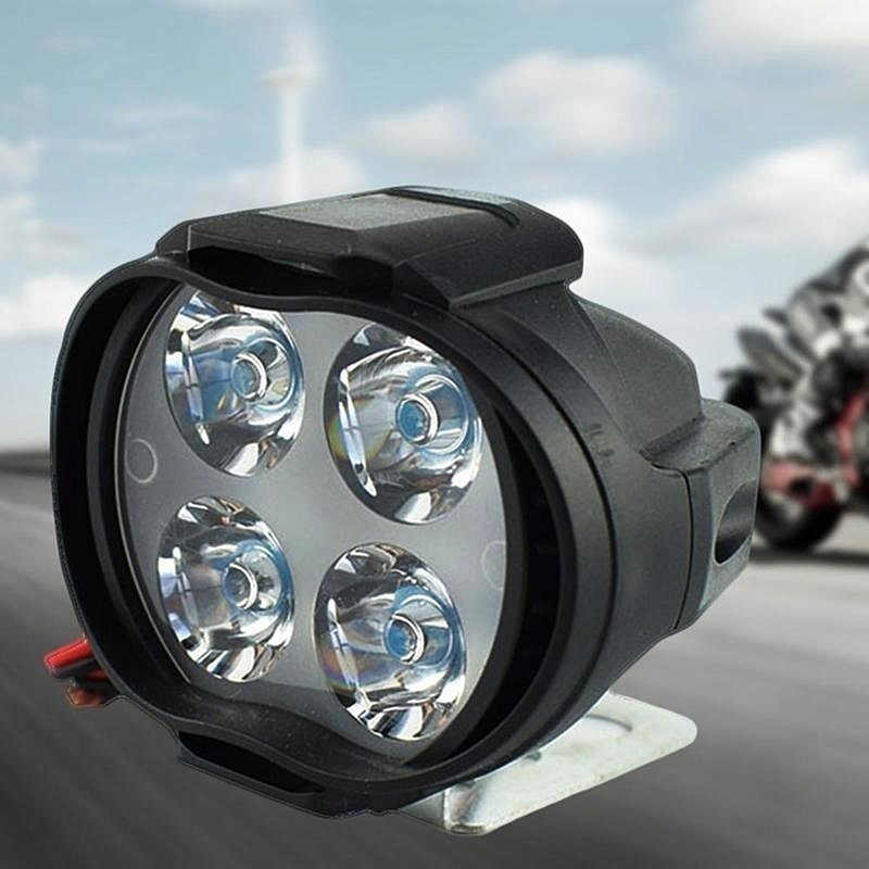 Low Power Consumption 12W 12V Motorcycle LED Front Driving Light Headlight Spotlights Headlamp Motorcycle Accessories Auto Parts