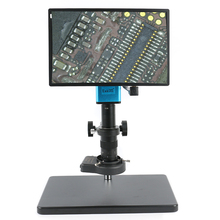 2019 FHD 1080P промышленности Автофокус Sony imx290 видео микроскоп Камера U диска Регистраторы CS для камер с-образным креплением для SMD пайки печатных плат
