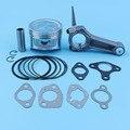 88 мм поршневое кольцо шатун Комплект прокладок для Honda GX390 13HP GX 390 генератор двигателя