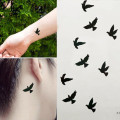 GRACEFUL  Fashion Birds Tattoo Stickers Temporary Body Art Makeup Waterproof Removable tatuaje temporal  sept21