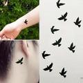 GRACEFUL  Fashion Birds Tattoo Stickers Temporary Body Art Makeup Waterproof Removable tatuaje temporal  sept21
