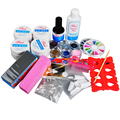 Nail Powder Glitter False Nail UV Gel Nail Art Tools Manicure Set for Nail Beauty