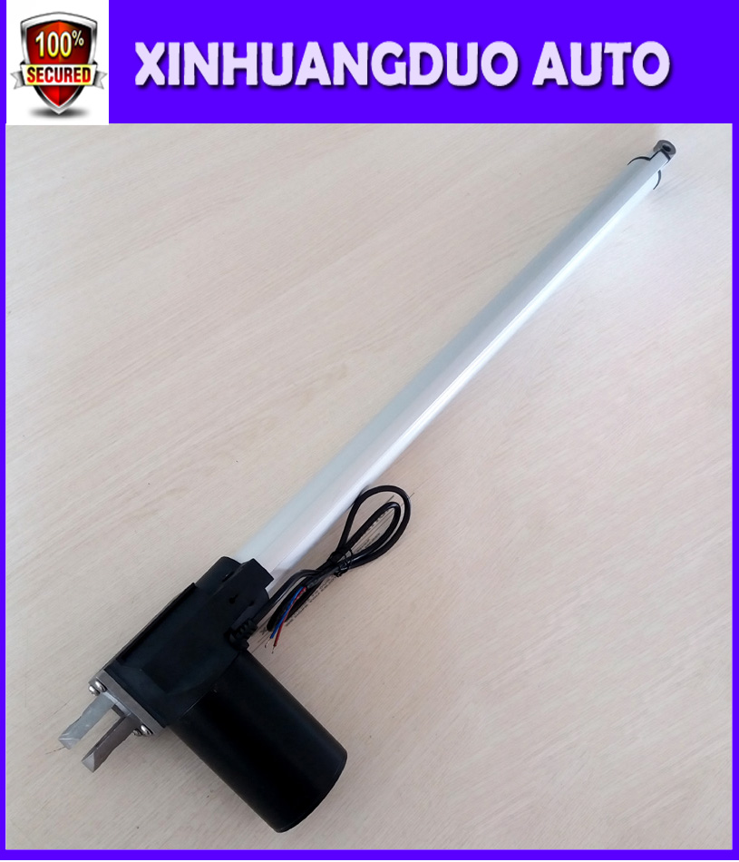12V 24V 300mm 12inch micro linear actuator electric linear actuator thrust 5000N 500KG 1100LBS tv lift