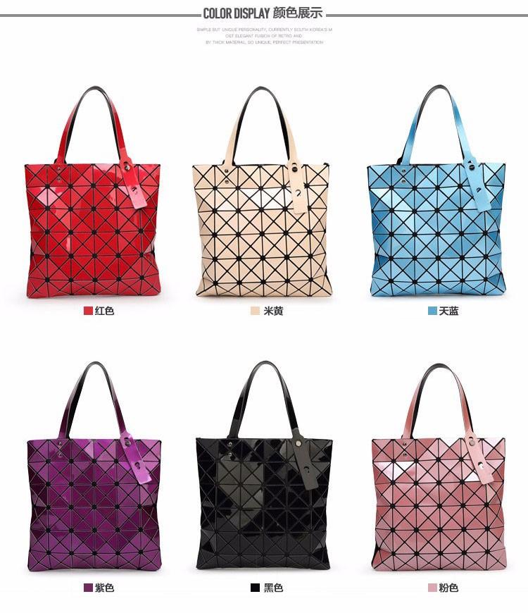 Women-Geometric-Plaid-Bag-Folded-Madam-Casual-Tote-Top-Handle-Distortion-Package-Shoulder-Bag-Bao-Bao-Pearl-BaoBao_02