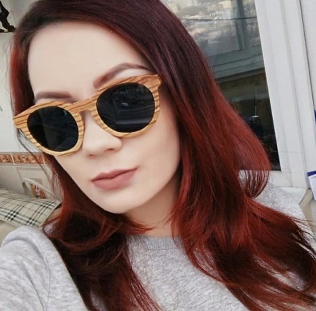 Gafas de sol madera vintage