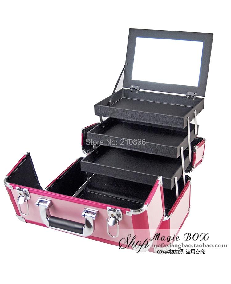 Nouveau Boîte 2014 Vanité Beauté Livraison Cas Top Maquillage Cosmétiques Qualité Gratuite 6aR7xR