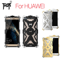 Simon Thor Series Aviation Aluminum Metal Phone Cases Cover For Huawei Ascend P8 P9 Plus Lite