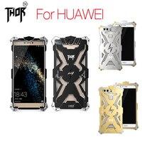 מקרי טלפון מתכת אלומיניום תעופתי סדרת Thor סיימון כיסוי עבור Huawei Ascend P10 P8 P9 בתוספת לייט כבוד Mate 7 8 9 S 6 7 8 מקרה