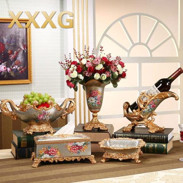 g grote creatieve luxe home decor hars plaat woonkamer tafel