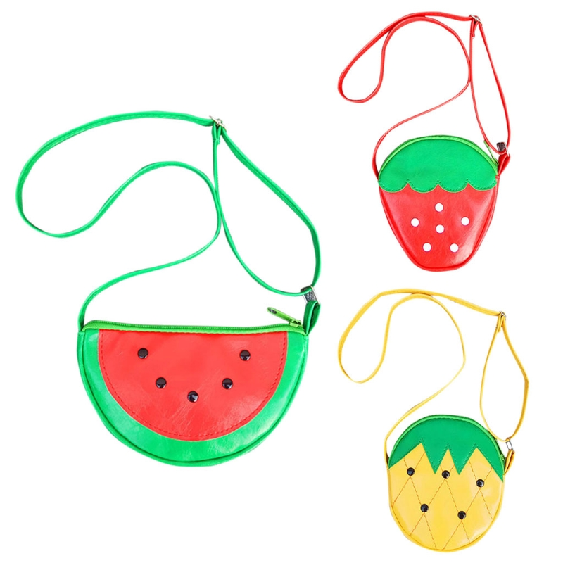 1Pc Cute Fruit Children Girls for Girl Shoulder Bag Small Crossbody Purse Bags Polyester For Girls Women1Pc Cute Fruit Children Girls for Girl Shoulder Bag Small Crossbody Purse Bags Polyester For Girls Women