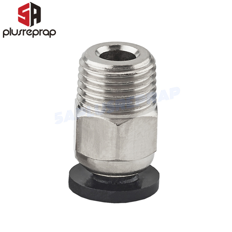 V6 Pneumatic Connectors For 1.75mm PTFE Tube Bowden J-head Hotend Quick Coupler J-head Fittings Hotend Fit 3D Printer