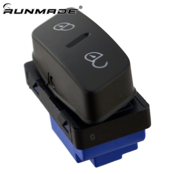 runmade For VW Golf Gti Jetta MK5 Passat Rabbit CC Driver Side Central Locking Switch Button 1K0 962 125B image