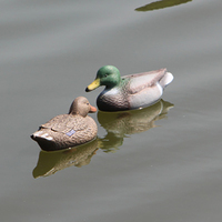 MACHUKA Hunting Highly Realistic Plastic Duck Lifelike Floating Mallard Ducks Set Hunting Decoy Garden Decor