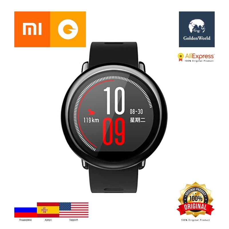 Original Xiaomi Huami Watch AMAZFIT Pace BLT 4 0 Sports Smart Watch Zirconia Ceramics Heart Rate