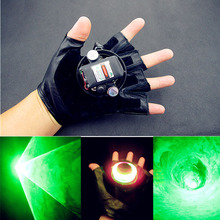 Green Red Laser Gloves Dancing Stage Show Light Whirlpool Lighting and LED Palm Light Rotary Laser for DJ Club/Party/Bars цена 2017