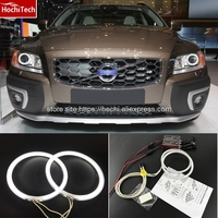 HochiTech Ccfl Angel Eyes Kit White 6000k Ccfl Halo Rings Headlight For Volvo XC70 2008 2011