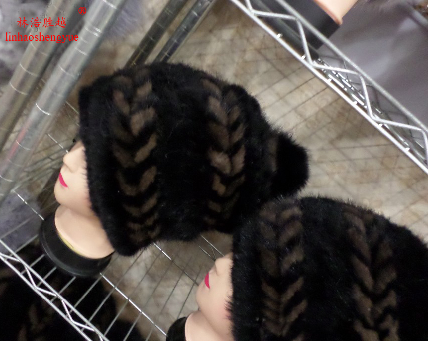 Linhaoshengyue 2015 Advanced mink fur hat real fur fashion warm in winter freeshipping corporate real estate management in tanzania
