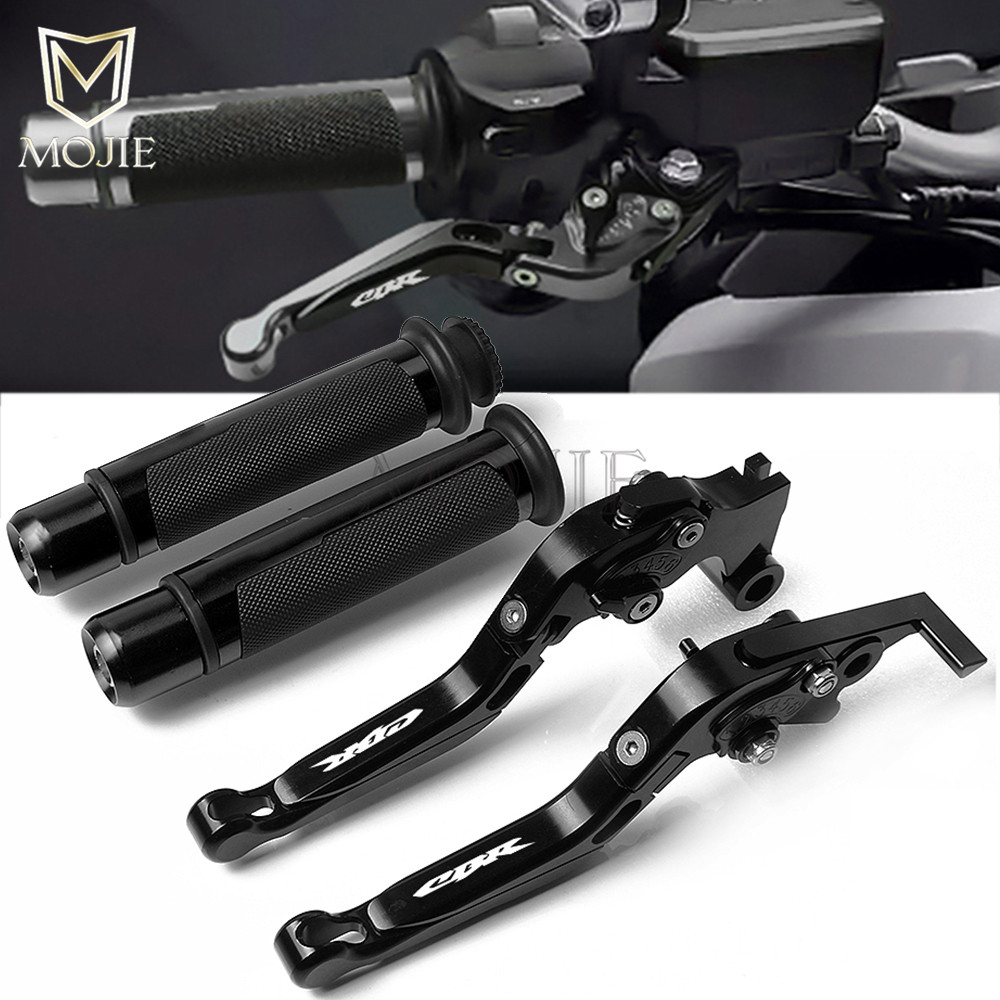 Motorcycle CNC Adjustable Foldable Brake Clutch Lever Handle Grips For Honda CBR500R CB500F CB500X CBR500 R