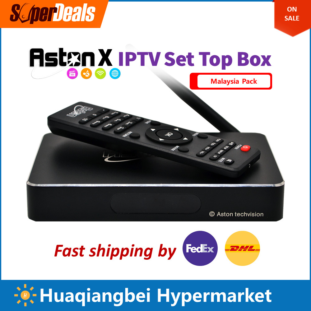 Aston X Android IPTV Box Malaysia Pack Upgrade of X8 Max Watch Singapore Malay India Indonesia Channels Substitute Astro Starhub