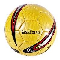 SANKEXING Professional Football Standard Ball Slip resistant Match Trainning Soccer Ball Game Soft Leather Size 4 Football Balls