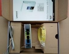 Orignal nuevo Desbloqueado LINKSYS SPA3102 VOIP PUERTA MODO ROUTER adaptador cargador 1FXO 1 FXS envío Gratis