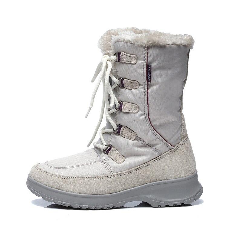 High Quality Women's Outdoor Winter Hiking Trekking Snow Boots Shoes For Women Warm Climbing Mountain Boots Shoes Woman Female humtto women s outdoor winter trekking hiking boots shoes sneakers for women sports climbing mountain snow boots shoes woman