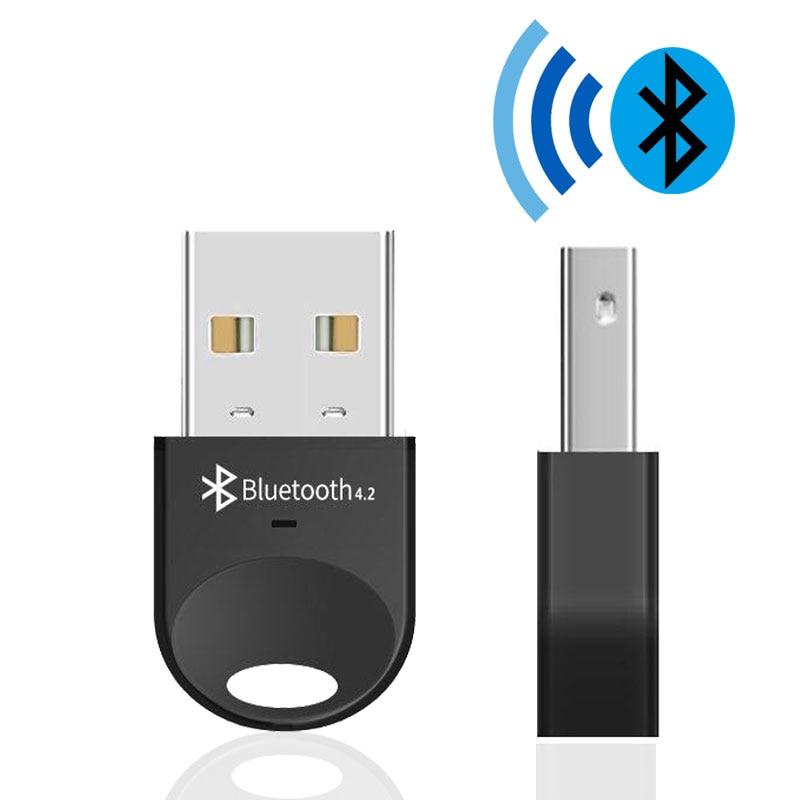 USB inalámbrico Bluetooth adaptador para ordenador auricular inalámbrico Bluetooth altavoz RSE 4,2 conductor libre Dongle Bluetooth/receptor