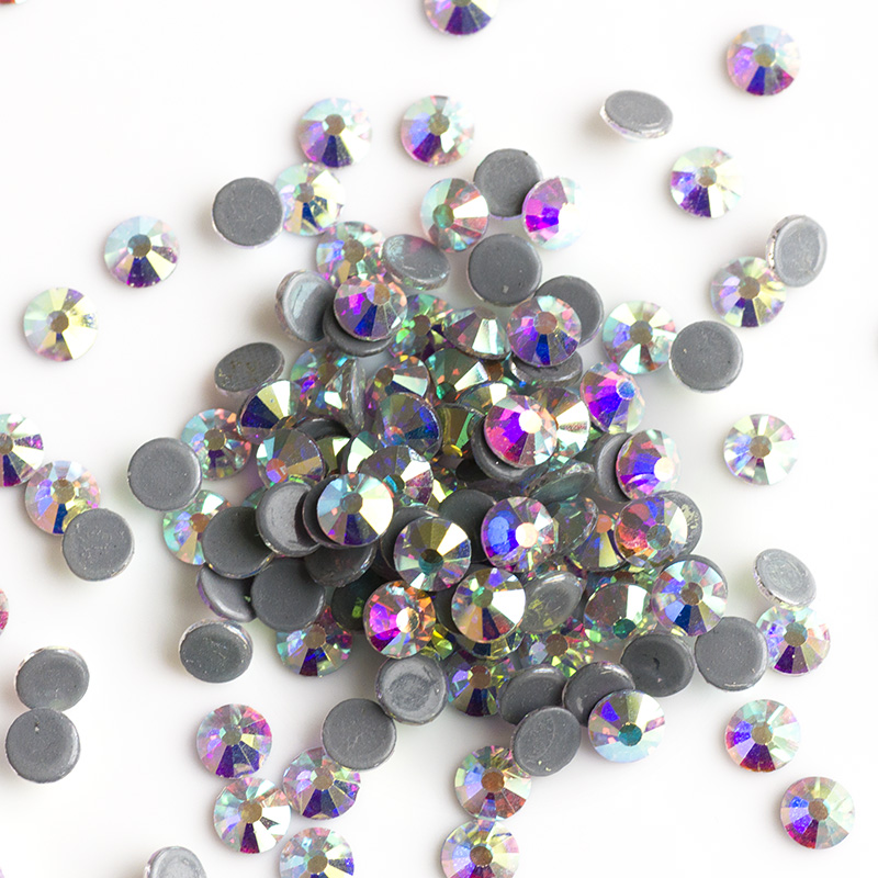 YANRUO 2028HF SS16 1440Pcs AB rhinestone Flatback Strass Crystal - Umjetnost, obrt i šivanje - Foto 3
