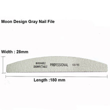 Nail File 100/180 Sanding Buffer Block Pedicure Manicur