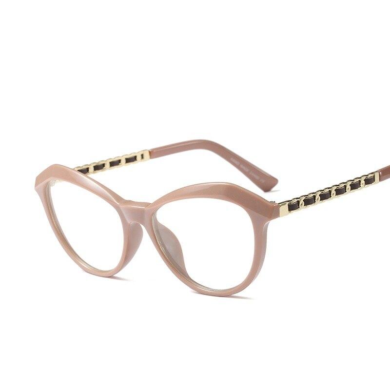 ANEDF E Luxus Marke Klare Linse Gläser Frauen Gold Brillen Rahmen ...