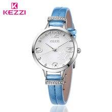 KEZZI  Brand Lady Watch Analog Women Dress Watch Fashion Casual Quartz Watch Women  relogio feminino quartz-watch k1263