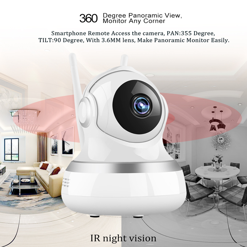 1080P Baby Monitor Wireless IP Camera Wi-Fi Mini Network Baby Camera Surveillance Wifi Night Vision CCTV Camera Home Security