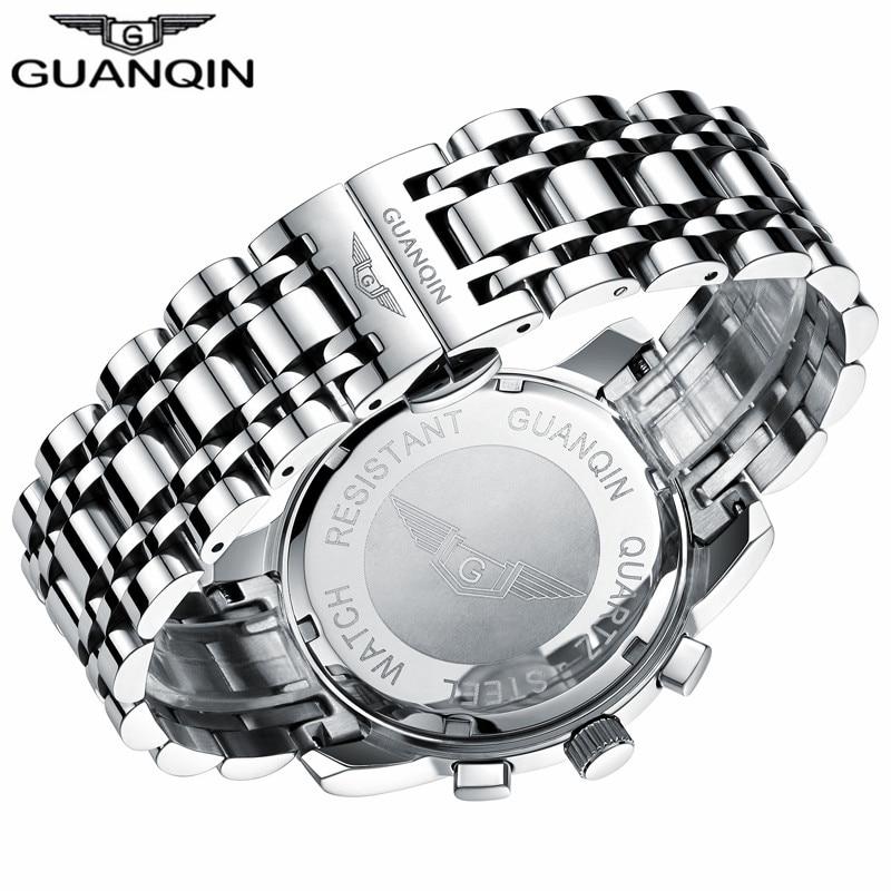 GUANQIN Relogio Masculino Męskie zegarki Top Marka Luksusowe Zegarek - Męskie zegarki - Zdjęcie 5