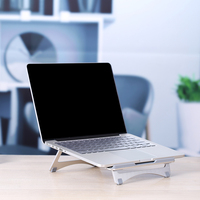 Portable Laptop Stand Cooling Base Notebook Computer Desktop Cooler Holder Bracket Notebook Support Laotop Accessories