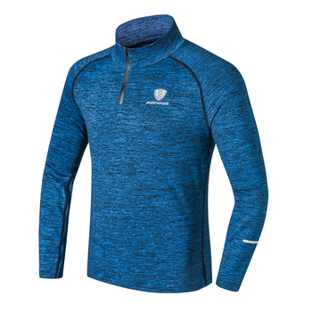 NEW Sport Men Quick Dry T-shirt Long Sleeve 1