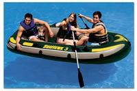 3 человек рыбацкая лодка море ajhawk надувные гребные лодки с веслами и резиновый каяк рыболовное судно летние водные виды спорта