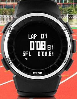 ФОТО sports watch running watch Step gauge Motion tracking calories distance 50m waterproof T029 free shipping