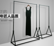 Production Bonus Folding Clothes Rail Hanging Garment Dress On Wheels Mesh Shoe Rack Stand