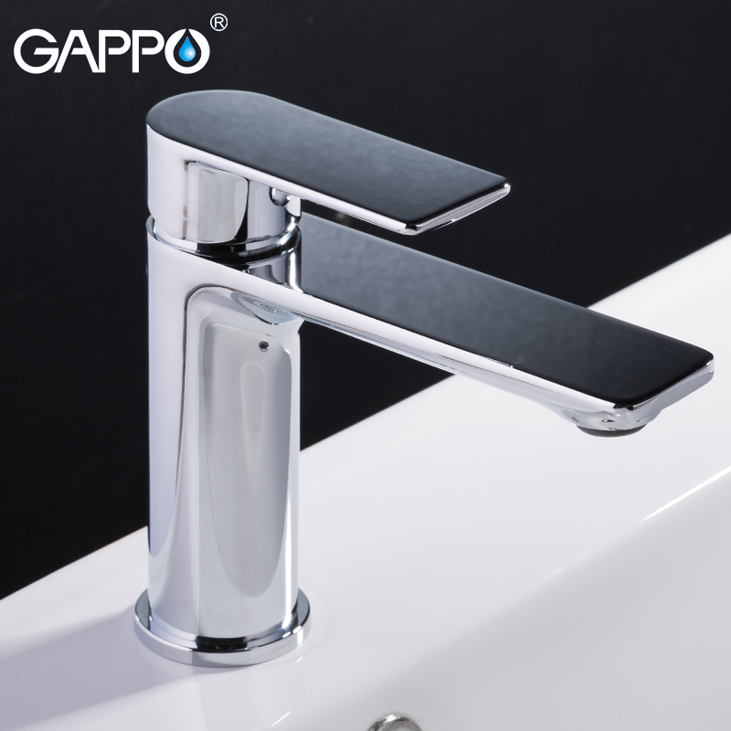 GAPPO Basin faucet basin mixer tap bathroom faucet brass deck mounted water sink mixer faucet bathroom waterfall faucet gappo crystal water faucet basin sink faucet deck mounted bathroom faucet mixer tap waterfall tap torneira grifo ga1097 4