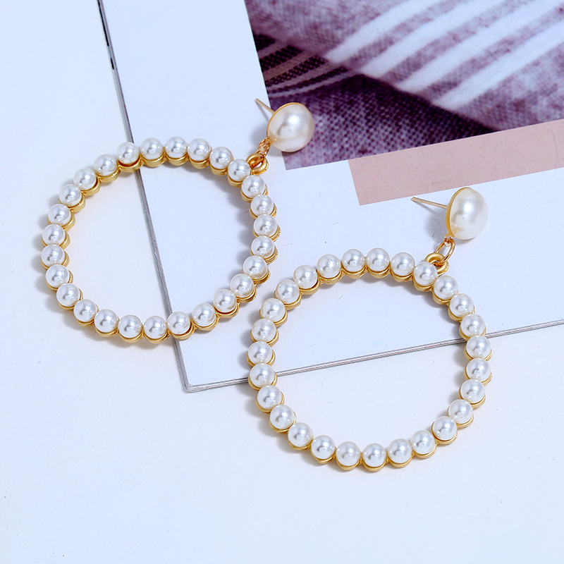Pearl Drop Earring (6)